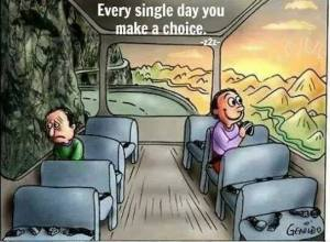 make a choice happy or not
