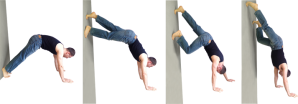 wall-handstand