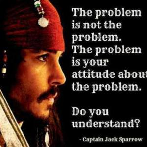 attitude about the problem